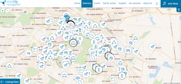 StartUp Navigator Is Mapping The Entrepreneurship Ecosystem in Bulgaria and the Region