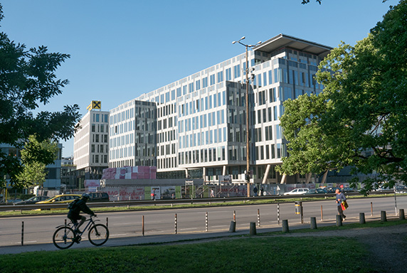 Last Phase of the of Expo 2000 Office Park Was Completed