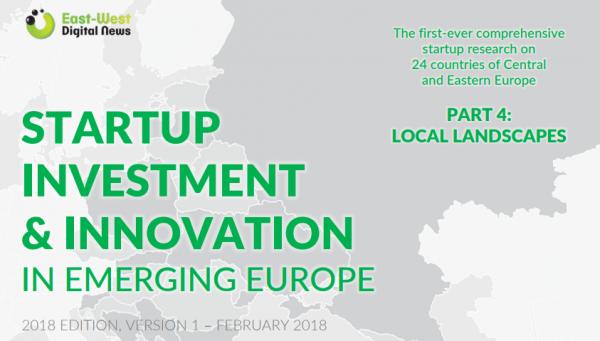 Профилът на България в Startup Investment & Innovation in Emerging Europe - доклад на East-West Digital News