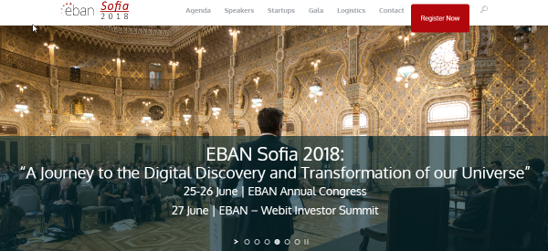 Sofia to Host the EBAN Annual Congress in June
