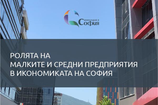 """СОАПИ публикува доклада """"Ролята на малките и средни предприятия в икономиката на София"""""""
