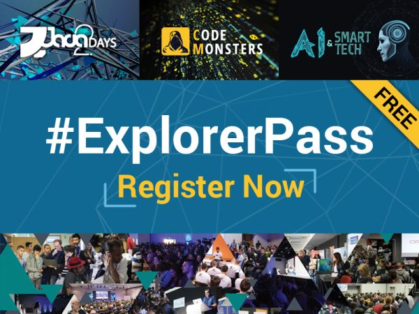 Java2Days and CodeMonsters Announced Complimentary #Explorer Pass