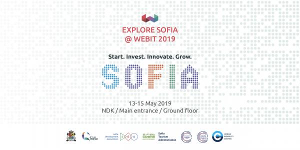 Презентации от София, Виена, Гьотеборг и Амстердам в зоната SOFIA's PLACE на Webit 2019