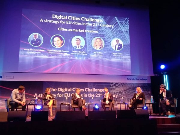 """София е готова със своята Стратегия за дигитална трансформация, разработена като част от проекта на Европейската комисия """"Предизвикателство Дигитални градове"""" (видео)"""