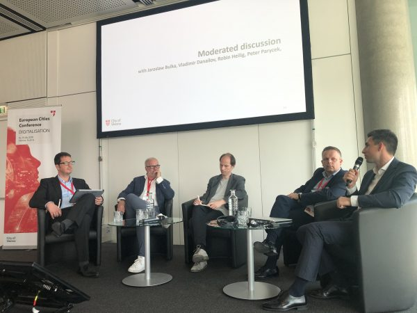 Столичната агенция за инвестиции споделя опита си по проекта Digital Cities Challenge във Виена
