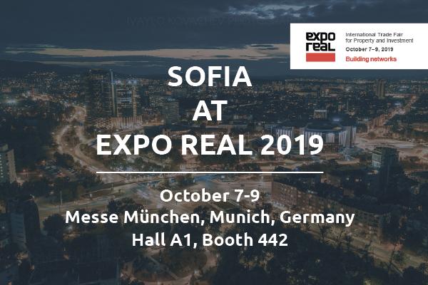 Представяме София на EXPO REAL 2019 в Мюнхен