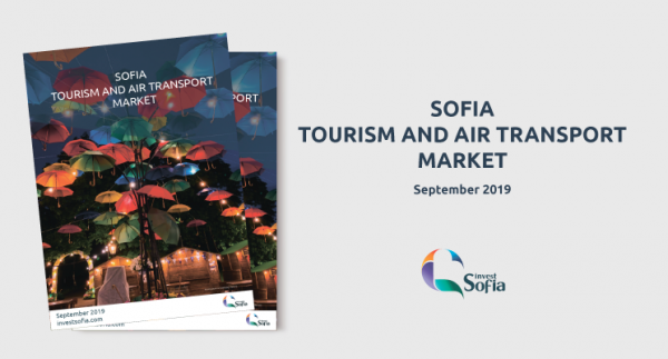 Invest Sofia's Third 'Sofia Tourism and Air Transport Market Report' 2019 - Now Available for Download