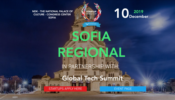 Startup World Cup 2020 to Take Place in Sofia at Global Tech Summit. Invest Sofia Is Joining The Jury.