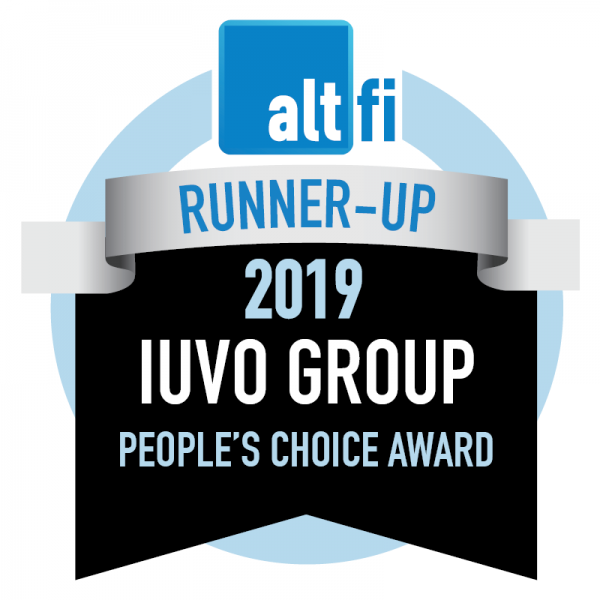 IUVO Awarded Runner-Up in the People's Choice Category of Prestigious AltrFi Awards