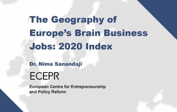 Sofia is Among the Brain Business Hubs of Europe
