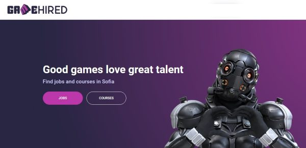 The First Bulgarian Career Platform for the Game Industry Goes Live